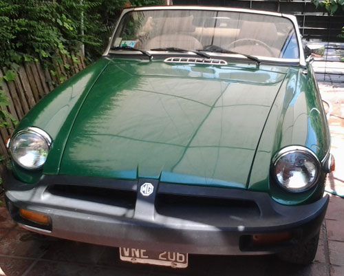 Auto MG 1980