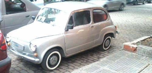 Car Fiat 600 R 1973