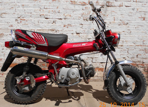 Moto Honda Dax