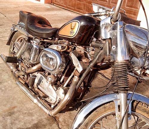 Auto Harley Davidson Sporter 1962
