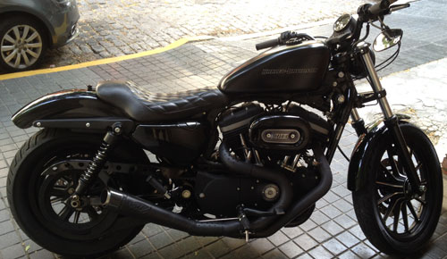 Auto Harley Davison Iron 2009
