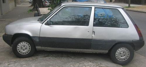 Auto Renault Super 5