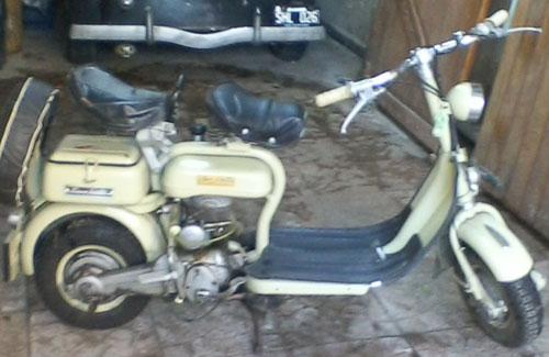 Motorcycle Siambretta 125 Std