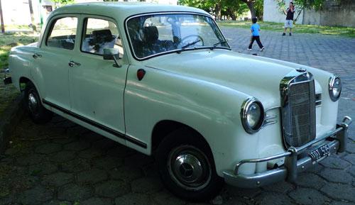 Car Mercedes Benz 1957