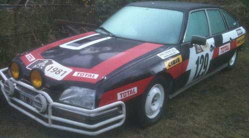 Auto Citroen Pallas SX 1981