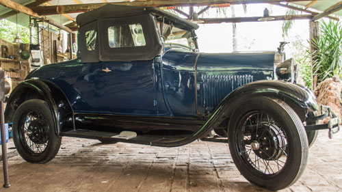 Car Ford A Voiture 1929