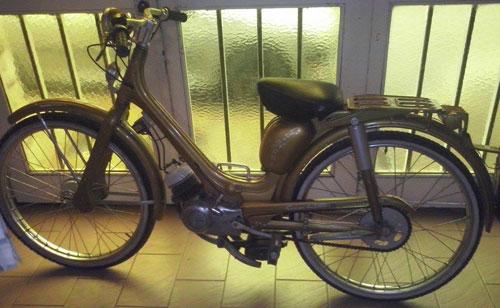 Motorcycle Siambreta 48 1960