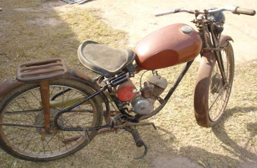 Motorcycle Puma 1960