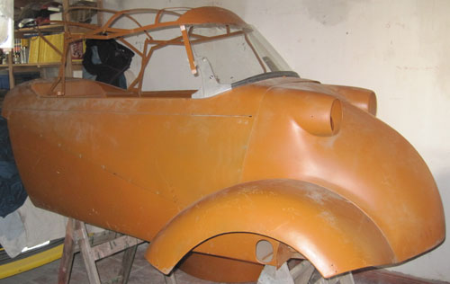 Car Messerschmitt KR 201