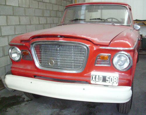 Car Studebaker Champ 1962