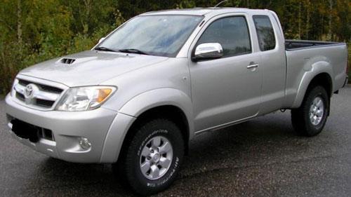 Car Toyota Hilux
