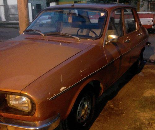 Car Renault 12 1981