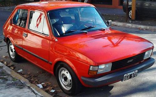Car Fiat 147 C 1982