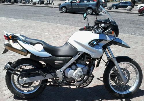 Car BMW GS 650 Monocilíndrica