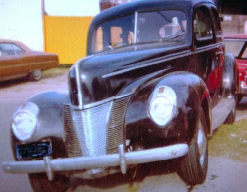 Auto Ford Sedán 1940