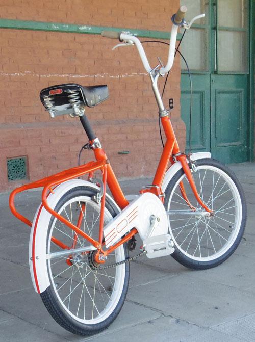 Bicicleta Panchito Plegable