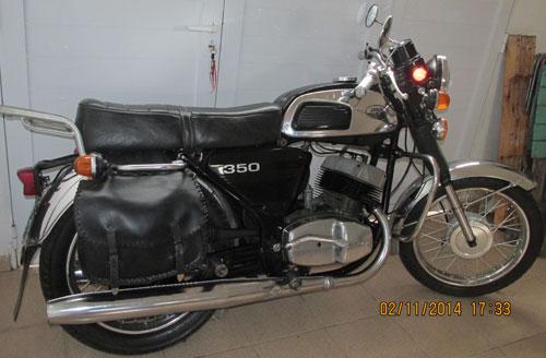Motorcycle Jawa 350 1979