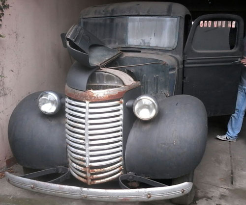 Auto Chevrolet 1939