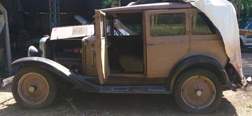 Car Chevrolet 1929