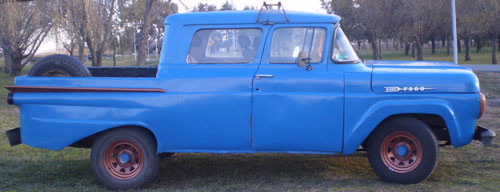 Car Ford F100 Loba Doble Cabina