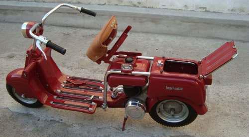 Motorcycle Lambretta Tipo A 1947