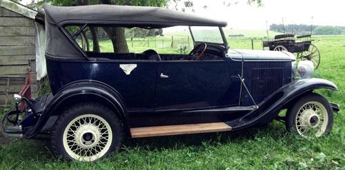 Car Buick 1930 Marquette