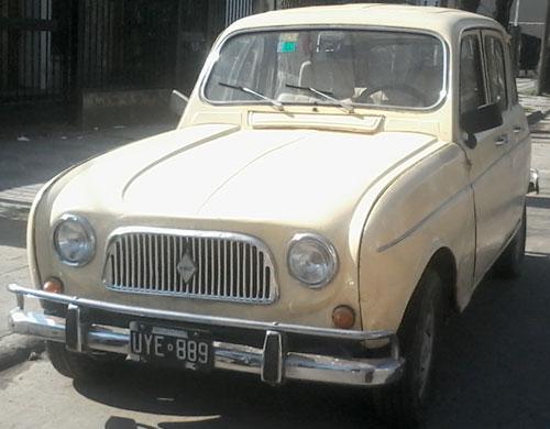 Auto Renault 4 L