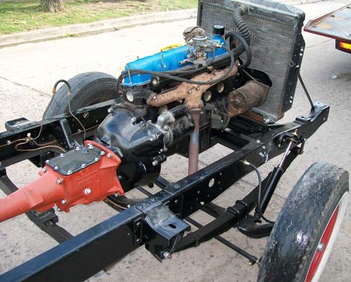 Auto Ford F100 1960