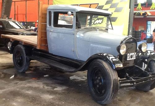 Car Ford A Camión