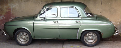 Car Renault Gordini