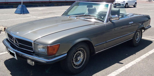 Car Mercedes Benz SL 500 1984
