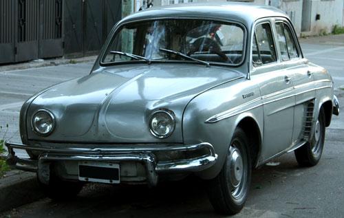 Car IKA Renault Gordini DA 2v