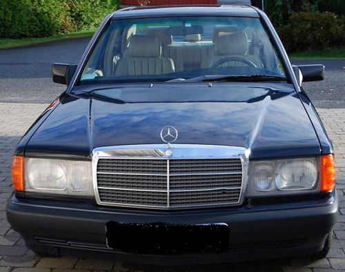 Car Mercedes BEnz 190 E 2.3 8v