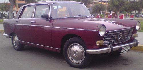 Car Peugeot Berlina 404