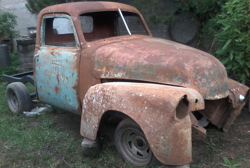 Auto Chevrolet Pick Up 1947 Sapo