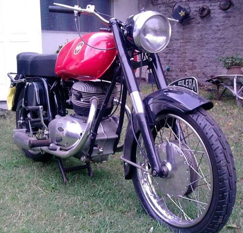 Motorcycle Gilera 300 1968