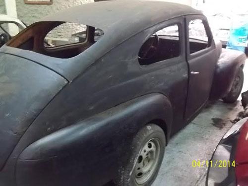 Auto Volvo 444 1956