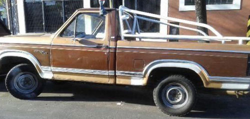 Car Ford Ranger XLT 1981
