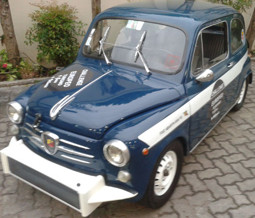 Car Fiat 600 Abarth 850 TC