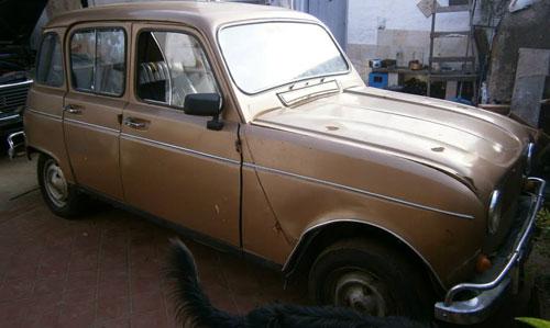 Car Renault 4S 1969