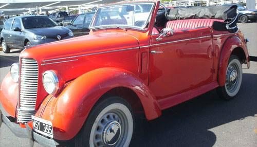 Auto Hillman 1947 Cabriolet