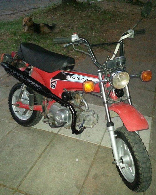Motorcycle Honda Trail70