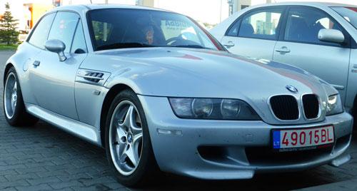 Auto BMW Z3 M Coupé