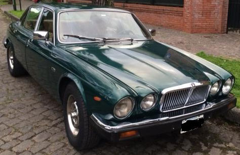 Car Jaguar XJ6 1980
