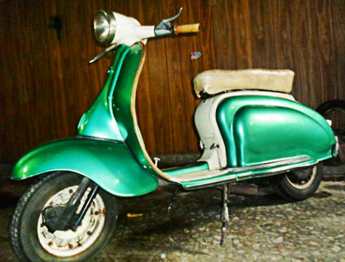 Motorcycle Siambreta TV 175 De Lujo