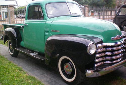 Auto Chevrolet Sapo 1951