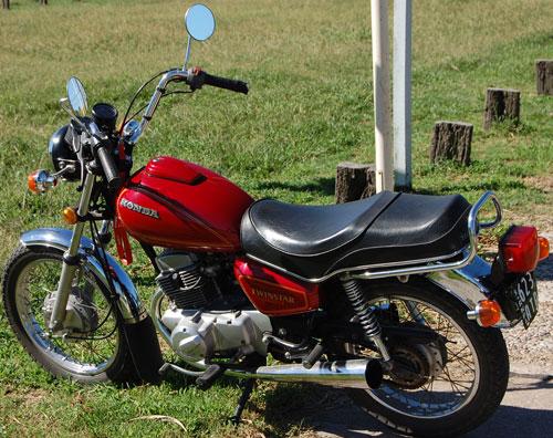 Moto Honda Twinstar 200 1981