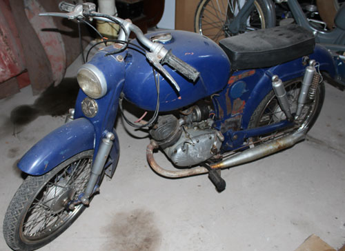 Motorcycle Paperino Super 1960