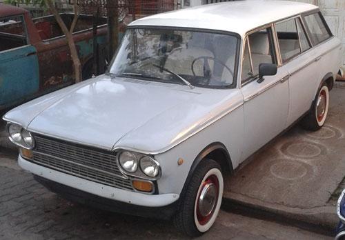 Car Fiat Familiar