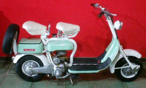 Moto Siambretta 1961